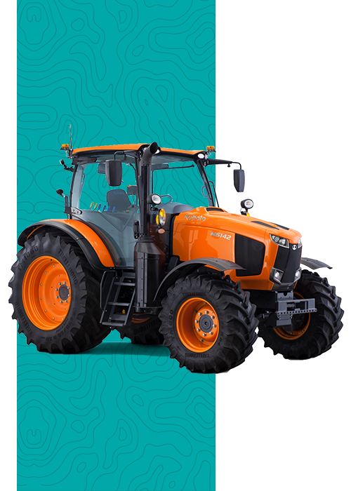 Tractor agrícola Kubota en Concesionario en Murcia y Albacete