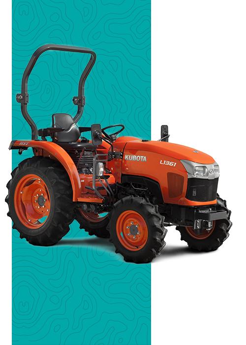 Tractor compacto Kubota en Concesionario en Murcia y Albacete