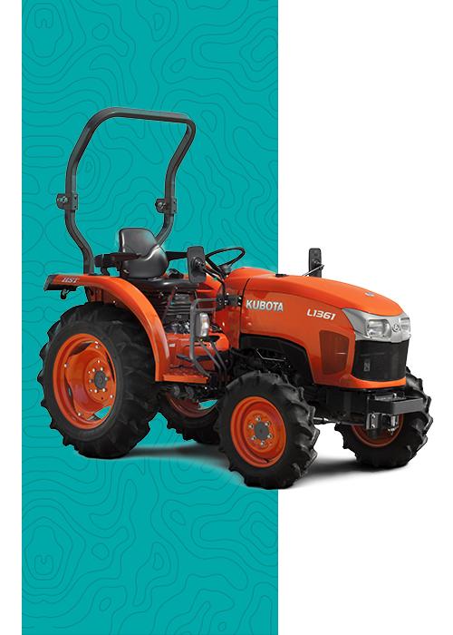 Tractores compactos Kubota en concesionario oficial en Murcia y Albacete