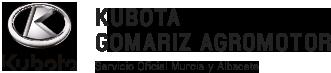 Logo de servicio oficial Kubota en Murcia y Albacete